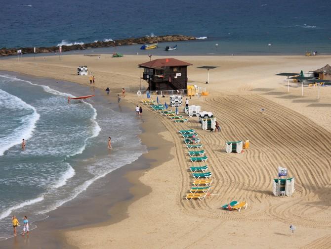 Фото: Нетания - Израильский курорт Средиземном море
