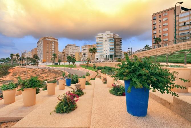Фото:Парковояй зонаы Нетании, Израиль