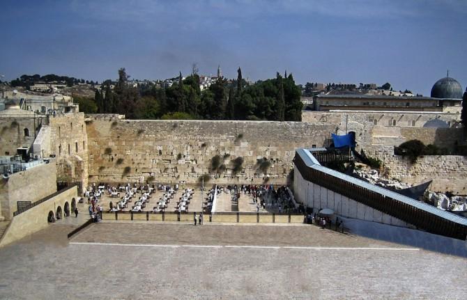 Фото: Стена плача в Иерусалиме: одна из святынь иудаизма