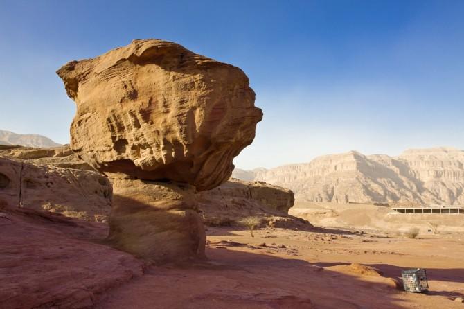 Фото: Сухая и жаркая погода в Израильской пустыне Негев
