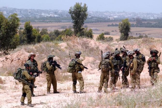 Фото: Армия обороны Израиля на учениях