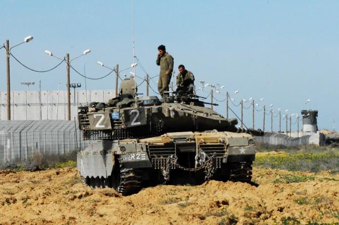 Фото: Военая операция 2014 года - нерушимая скала