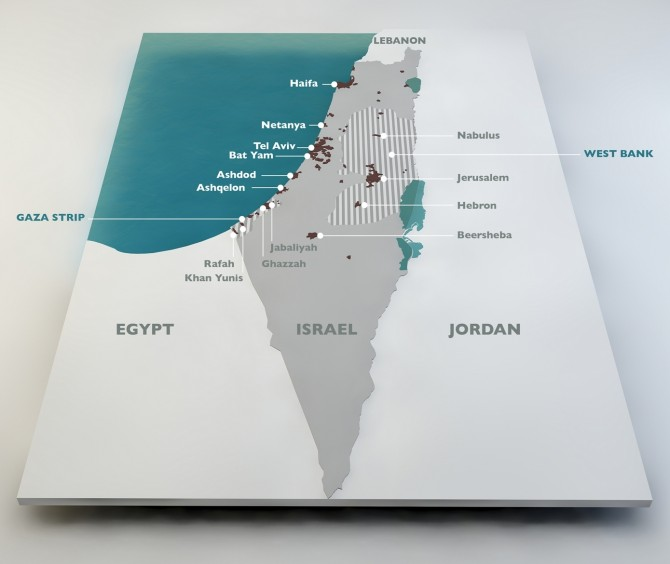 Фото: Израиль на карте мира: маленькая страна с большими возможностями