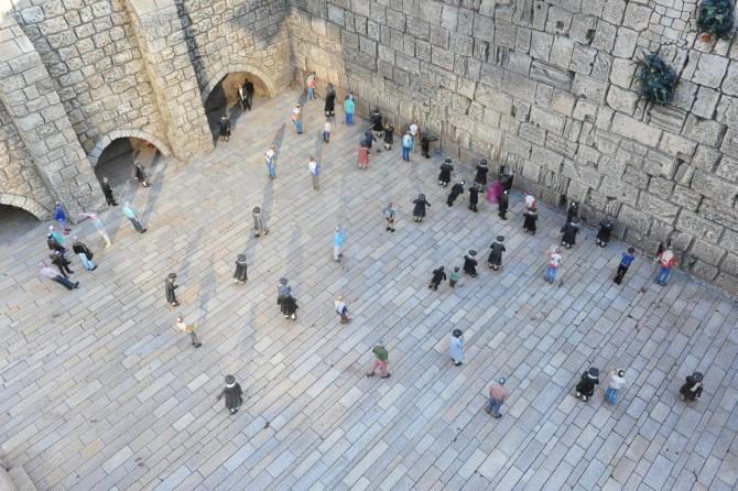 Фото: Стена плача в миниатюре: парк Мини-Израиль