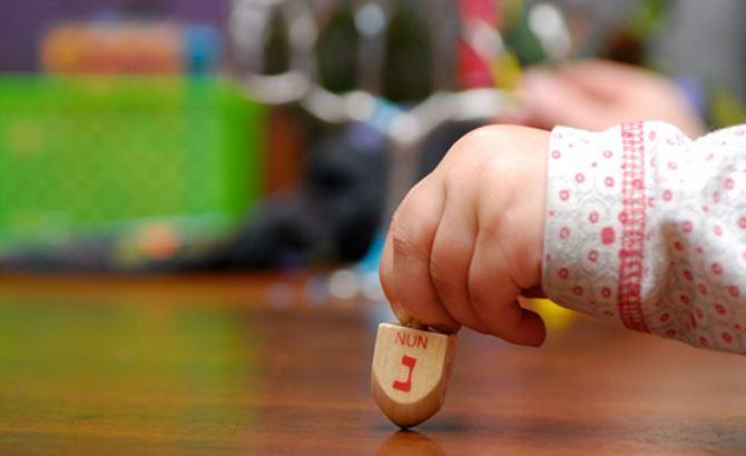 Фото: Небольшая юла (севивон) для праздничных игр