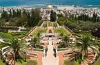 Фото: Бахайские сады и храм Баха Уллы в Хайфы
