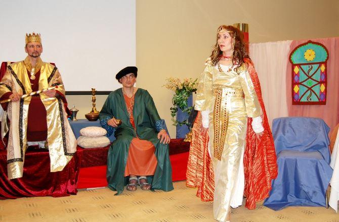Фото: Театральные постановки на Пурим