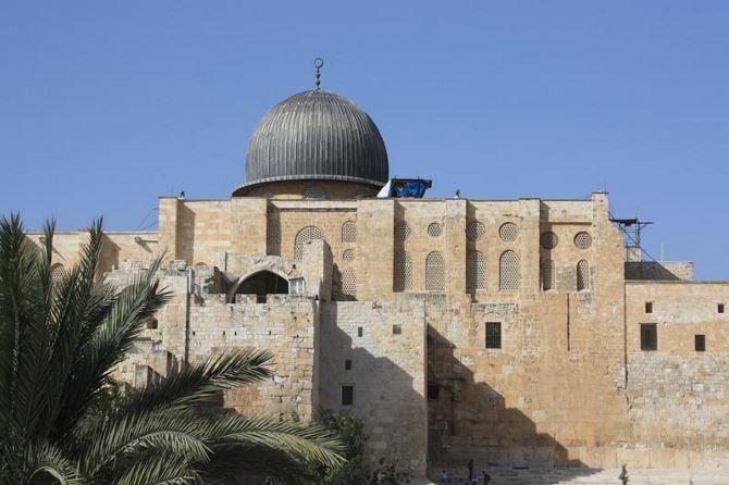 Фото: Мечеть Аль Акса в Иерусалиме